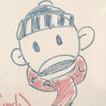 Drawly the Sock Monkey