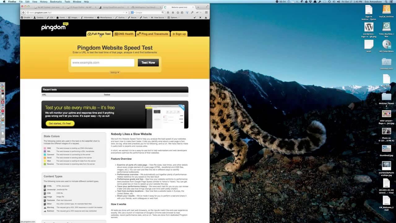Speeding Up Your WordPress Site