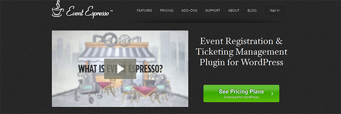 Event Espresso plugin