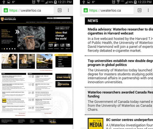 Mobile Example