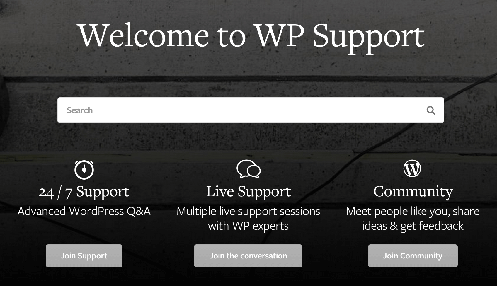WPMU DEV support options