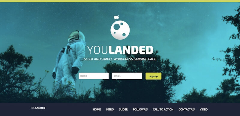 YouLanded theme makes it easy to match your branding with unlimited colors.