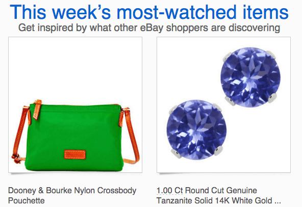 eBay Trending Email