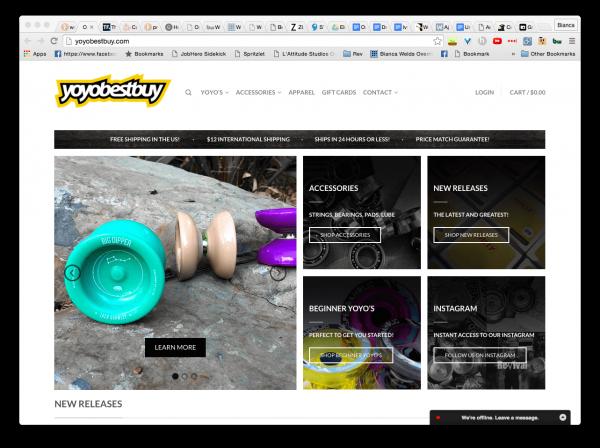 YoyoBestBuy ecommerce homepage