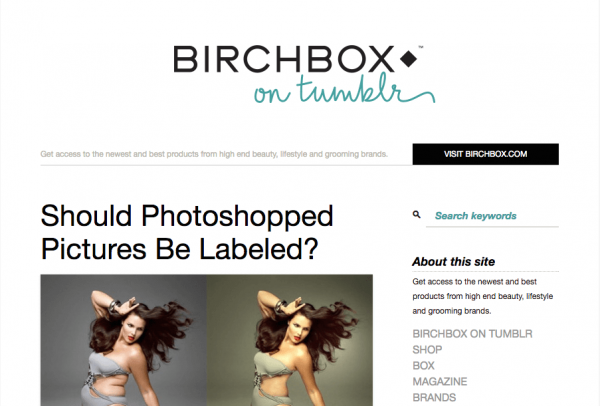 Birchbox blog