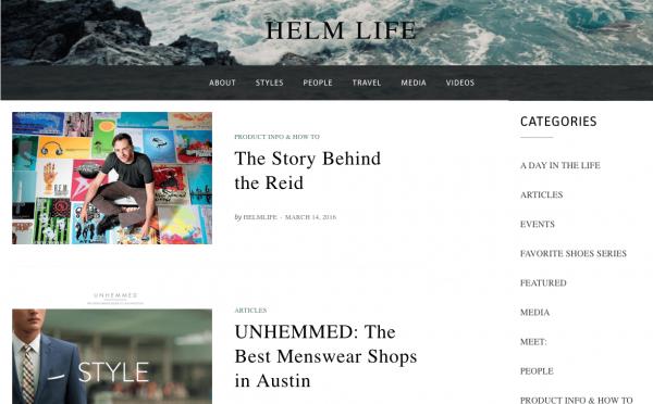 Helm Life blog