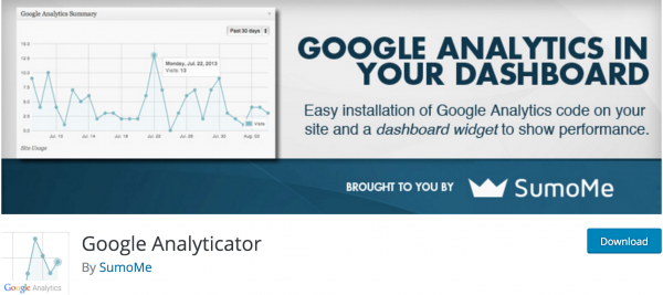 Google Analyticator by SumoMe