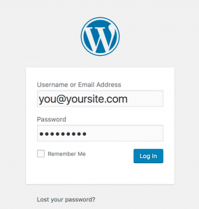 Improve your WordPress security by securing your login page