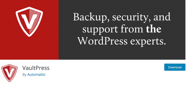 Improve your WordPress security with a plugin like VaultPress